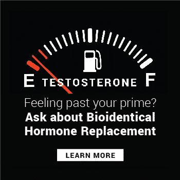 Feeling past your Prime? Ask about our Bioidentical Hormone Replacement Therapy (BHRT) and tesosterone pellets. In Seattle call Well Medical Arts at 206-935-5689 to schedule your consultation to learn more.