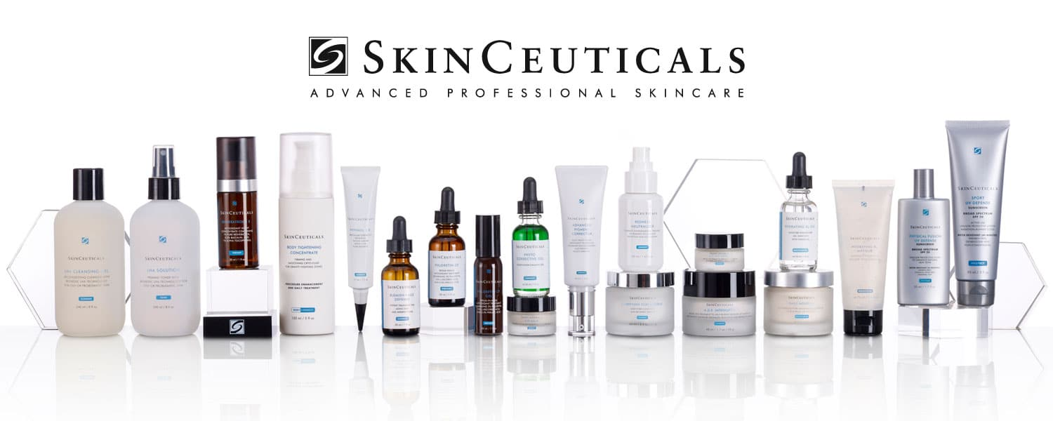 Well Medical Arts is proud to be able to offer a full line of SkinCeuticals skin solutions.