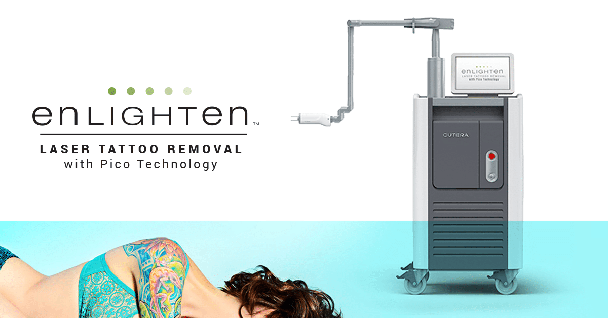 We feature the Cutera enlighten for our Laser Tattoo Removal Treatments in Seattle at Well Medical Arts