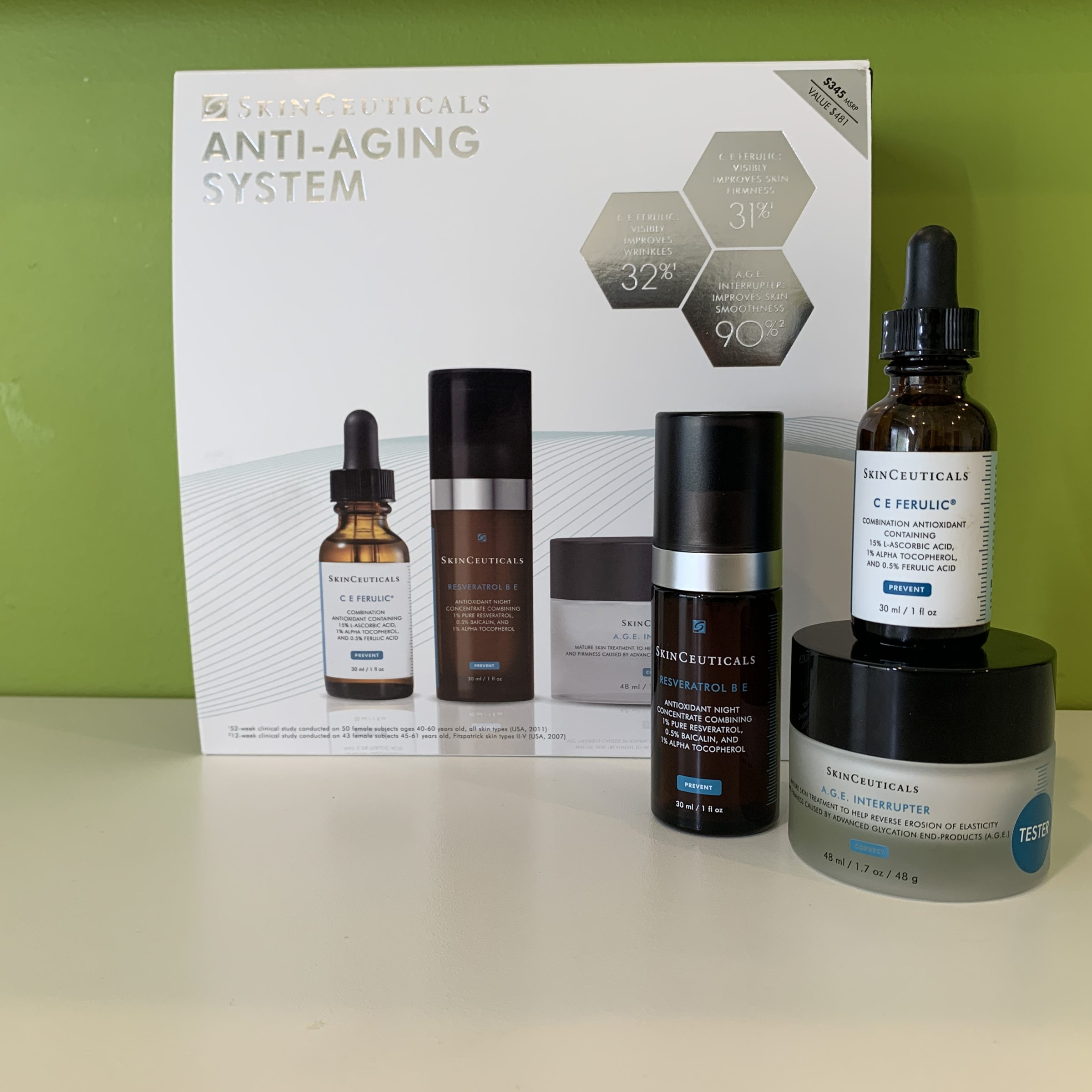 ANTI-AGING SKIN SYSTEM