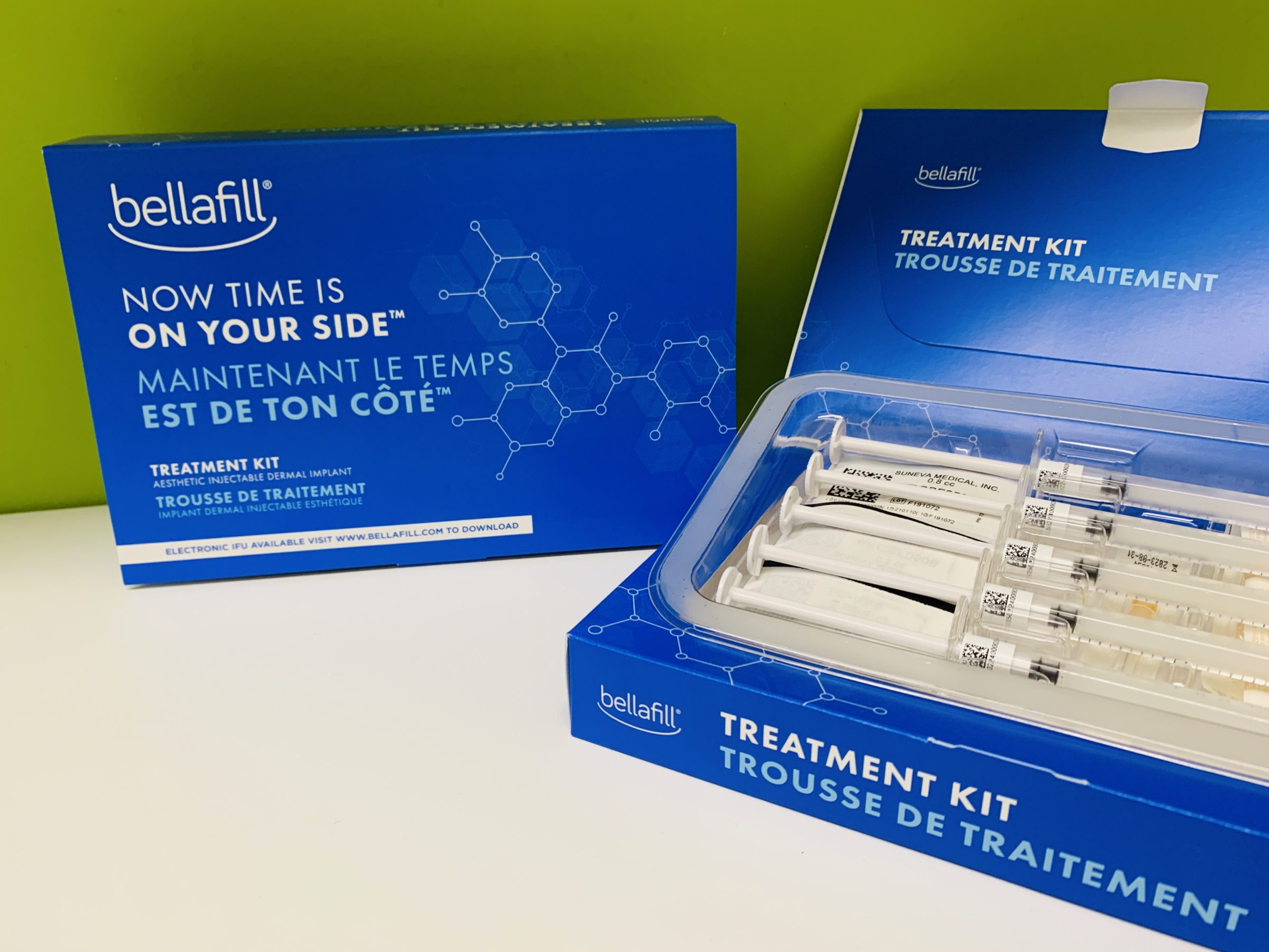 Bellafill Treatment Kits are available at Well Medical Arts in Seattle.