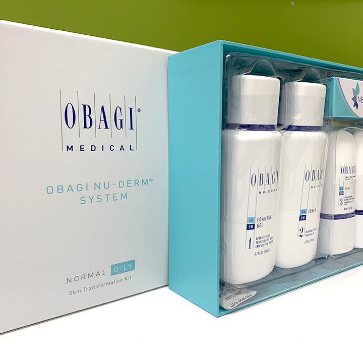 Genuine Obagi products are available in Seattle at Well Medical Arts. The Obagi Nu Derm system is a complete skin care system specially formulated for normal to oily or dry skin to help correct hyperpigmentation, such as dark spots and melasma, and transform the appearance of aging skin. Beware of counterfeit products on the internet.