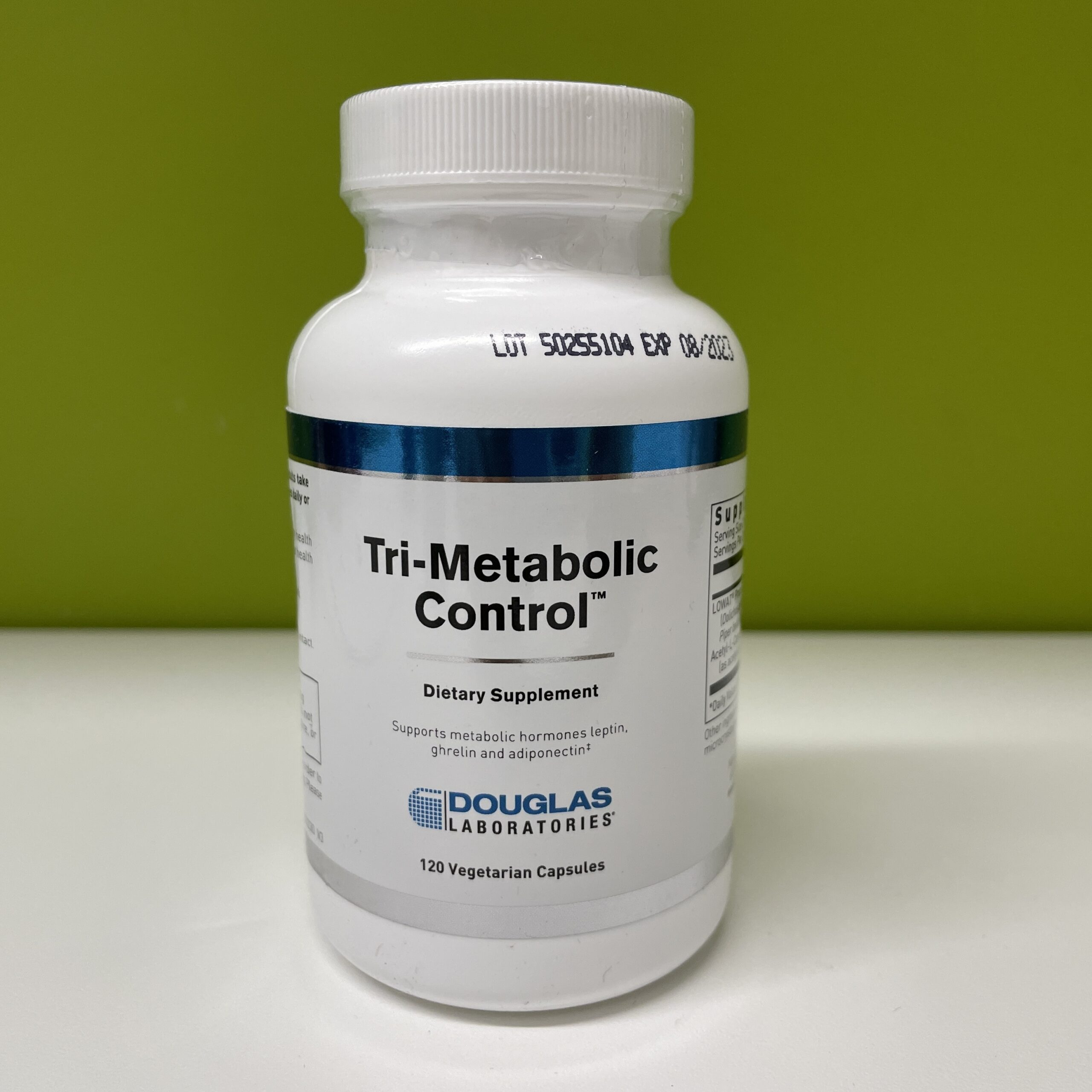 Tri-Metabolic is great for the carb cravers. It helps make you feel full and not feel the need for more carbs. Tri-Metabolic Control combines the clinically studied extracts of the Piper betleleaf andDolichos biflorusseed plus acetyl-L-carnitine to support three metabolic hormones: adiponectin, leptin, and ghrelin to help control appetite, satiety and fat metabolism as part of a healthy weight management program.
